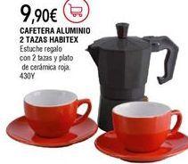 Oferta de Cafeteras por 9,9€