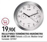 Oferta de Reloj de pared por 19,9€