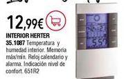 Oferta de Estación meteorológica por 12,9€