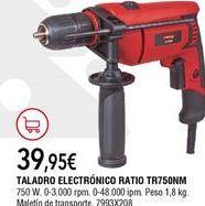 Oferta de Taladro Ratio por 39,95€