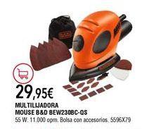 Oferta de Lijadora Black & Decker por 29,95€