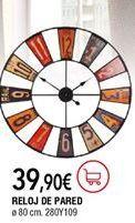 Oferta de Reloj de pared por 39,9€