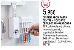 Oferta de Accesorios para baño por 5,95€