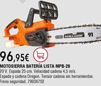 Oferta de Motosierra por 96,95€