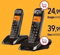 Oferta de Teléfono inalámbrico por 24,99€