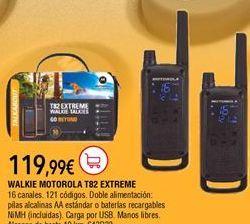 Oferta de Walkie talkie Motorola por 119,99€