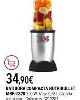 Oferta de Batidora de vaso por 34,9€