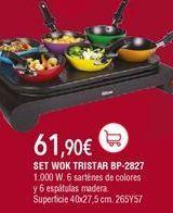 Oferta de Wok por 61,9€