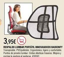 Oferta de Respaldo de masaje por 3,95€