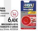 Oferta de Cinta adhesiva ceys por 6,4€