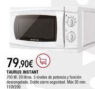Oferta de Microondas Taurus por 79,9€
