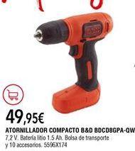 Oferta de Taladro Black & Decker por 49,95€