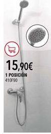 Oferta de Conjunto de ducha por 15,9€