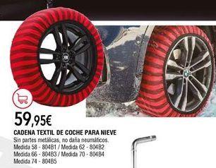 Oferta de Cadenas de nieve por 59,95€