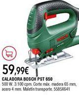 Oferta de Sierra de calar Bosch por 59,99€
