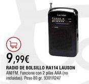 Oferta de Radio por 9,99€