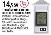 Oferta de Estación meteorológica por 14,95€