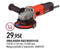 Oferta de Amoladora Black & Decker por 29,95€