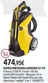 Oferta de Hidrolimpiadora Kärcher por 474,95€