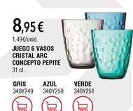 Oferta de Vasos por 8,95€