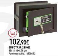 Oferta de Caja fuerte por 102,9€