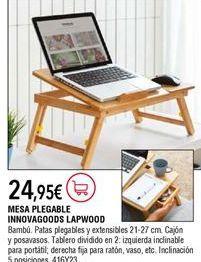 Oferta de Mesa plegable por 24,95€