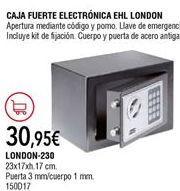 Oferta de Caja fuerte por 30,95€