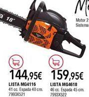 Oferta de Motosierra a gasolina por 144,95€