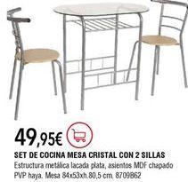 Oferta de Mesa de cocina por 49,95€