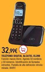 Oferta de Teléfono inalámbrico por 32,99€