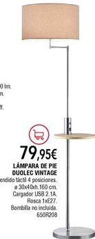 Oferta de Lámpara de pie por 79,95€