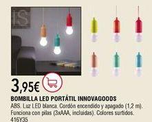 Oferta de Bombilla led por 3,95€