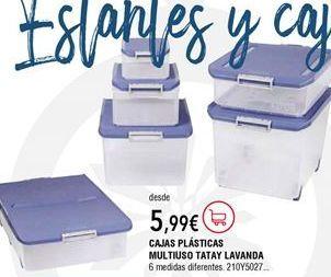 Oferta de Cajas por 5,99€