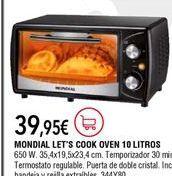 Oferta de Mini horno por 39,95€