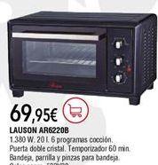 Oferta de Mini horno Lauson por 69,95€