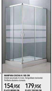 Oferta de Mampara de ducha por 154,95€