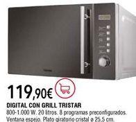 Oferta de Microondas Tristar por 119,9€