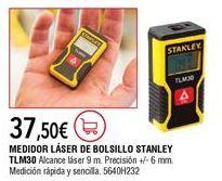 Oferta de Medidor láser Stanley por 37,5€