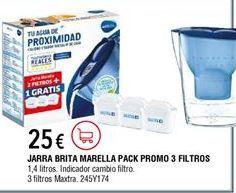 Oferta de Jarra con filtro Brita por 25€