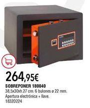Oferta de Caja fuerte por 264,95€