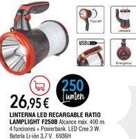 Oferta de Linterna por 26,95€