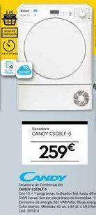 Oferta de Secadora de condensación Candy por 259€