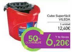 Oferta de Cubo Superfácil VILEDA por 12,4€
