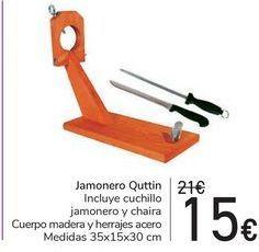 Oferta de Jamonero Quttin  por 15€