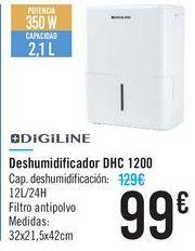 Oferta de Deshumidificador DHC 1200 Digiline  por 99€