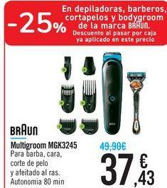 Oferta de Multigroom MGK3245 BRAUN por 37,43€