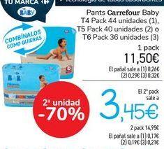 Oferta de Pants Carrefour Baby por 11,5€