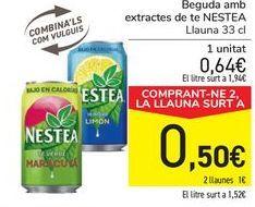 Oferta de Bebida con extractos de té NESTEA por 0,64€