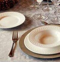 Oferta de Vajilla porcelana 18 piezas Mod. Cherie Pierre Cardin por 29,9€