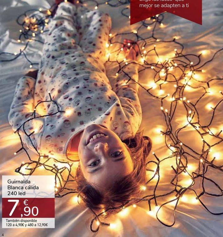Oferta de Guirnalda Blanca cálida 240 led por 7,9€